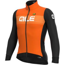 Alé Cycling PR-S Logo Maglia Jersey A Maniche Lunghe Uomo, arancione/nero